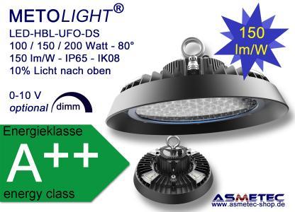 METOLIGHT LED Hallenleuchte HBL-UFO-DS