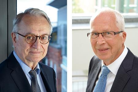 v.l. Prof. Dr. Zimmer, Dr. Weyer