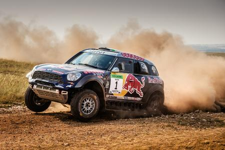 2015 Hungarian Baja, Nasser Al-Attiyah (QAT), Mathieu Baumel (FRA) - MINI ALL4 Racing #1 - Qatar Rally Team - 15.08.2015