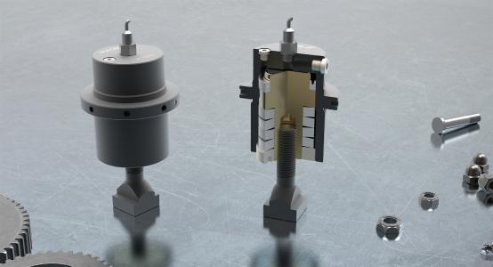 Federspannzylinder ZSF smaller