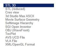 CAD Modelle in zahlreichen verschiedenen CAD Formaten