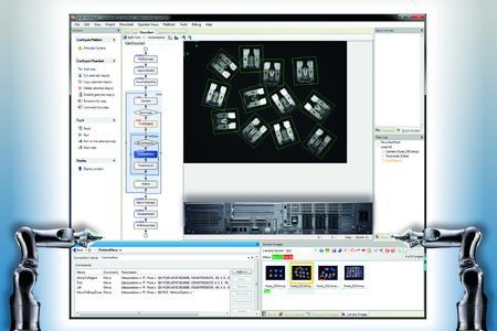 Matrox Design Assistant unterstützt DENSO b-CAP Roboter Interface