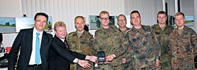 The training system is handed over to the German army.