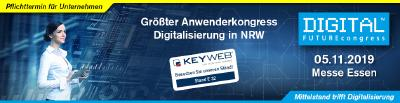 Die Keyweb AG beim DIGITAL FUTUREcongress 2019