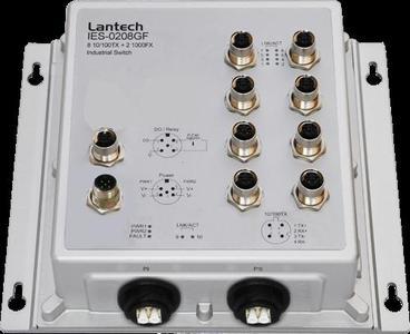 Lantech IES-0208GF(IP67/IP43)