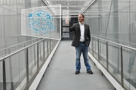 Christian Neureiter, Projektmitarbeiter am Josef Ressel Zentrum der Fachhochschule Salzburg. Bild: FH Salzburg