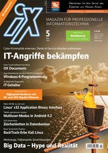 Cover iX Ausgabe 5/2013