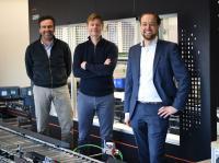 Personen v.l.n.r.: Paul Hermsen, Martijn Herder, Stefan Kleijngeld