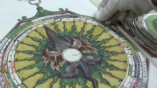 """Ausschnitt des Projekt-Videos """"Die Bibliotheca Bipontina und ihre Bestände"""""""