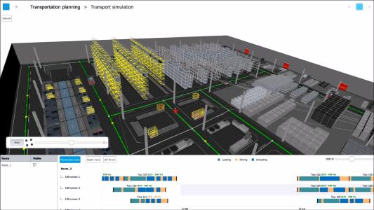 Screenshot - Logistik in 3D