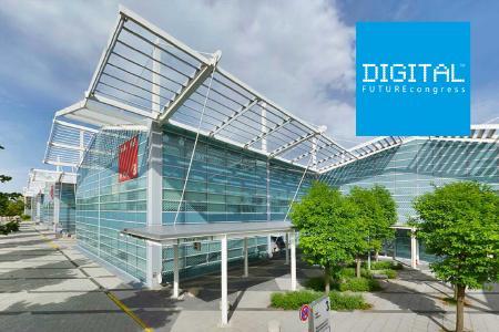 DIGITAL FUTUREcongress in der Messe München jetzt in Halle 3 und 4
