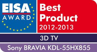 EISA Award 2012 KDL 55HX855