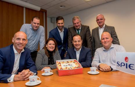 Successful teamwork: SPIE, Equeep and Arvato Systems