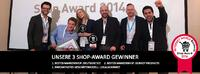 Internet World Business Award: Drei Awards für Netshops Commerce