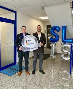Die beiden Geschäftsführer von silence lights. Andreas Jakob (l.) und René Haschert