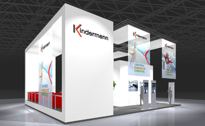 Kindermann Messestand ISE 2010