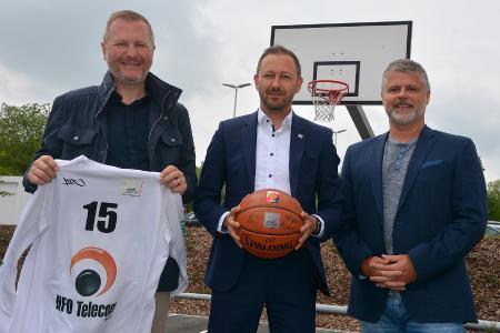 Basketball Sponsoring HFO Telecom