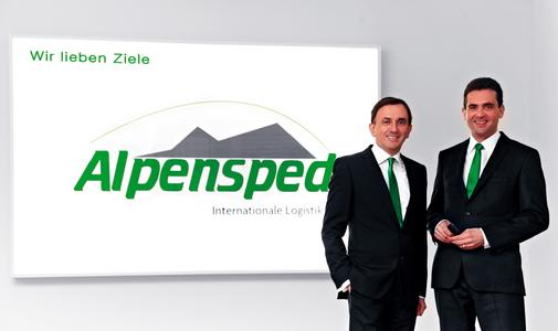Christian und Massimo Faggin (v. links) Bildquelle: Alpensped GmbH