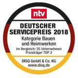 FingerHaus gewinnt Deutschen Servicepreis 2018