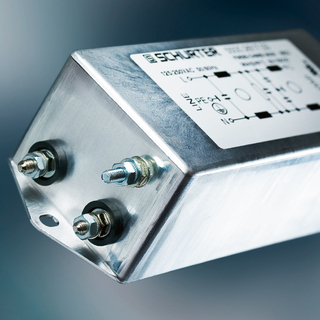 Compact 2-stage-EMI-Line-Filter for one phase systems