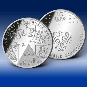 Münzen News Des Bayerischen Münzkontors 600 Jahre Konstanzer
