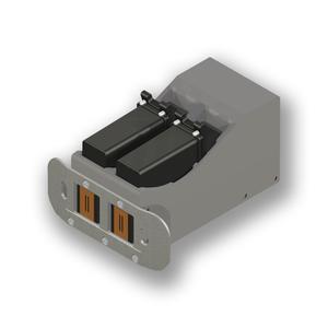 Nonstop-Printing-Funktion: 2 synchronisierte Inkjet-Druckköpfe sorgen für höhere Druckerverfügbarkeit / Foto - Bluhm Systeme