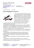 [PDF] Pressemitteilung: Neuer KYB-Stoßdämpfer-Katalog 2011