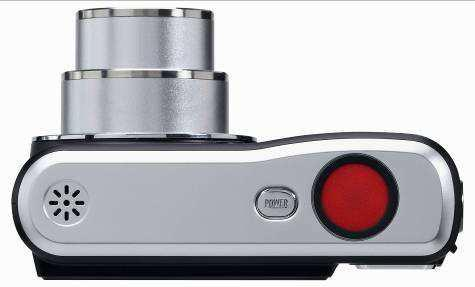 """""""Der Auslöserknopf der AgfaPhoto sensor Kamera ist mit 14 Millimetern Durchmesser deutlich größer als die meisten Auslöser aktueller Digitalkameras."""""""