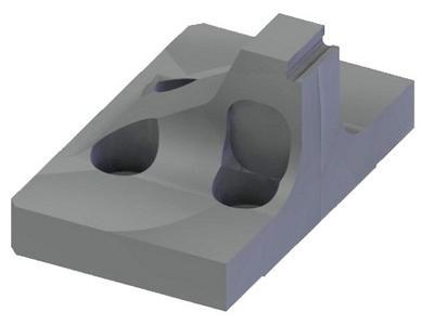 Breitenreduzierte Spannbacken 24mm mit Hartmetallbeschichtung.