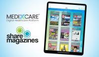 Die MEDIX-CARE Plattform implementiert Sharemagazines