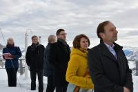 Die Teilnehmer und Referenten erfahren von Markus Neumann, dem Geschäftsführer der Umweltforschungsstation des Freistaates Bayern, wie Umweltforschung auf der Zugspitze aussieht und was sie alles kann!