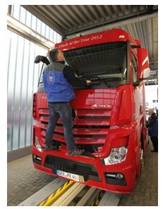 TÜV SÜD ist Sicherheitspartner beim Euro Truck Test