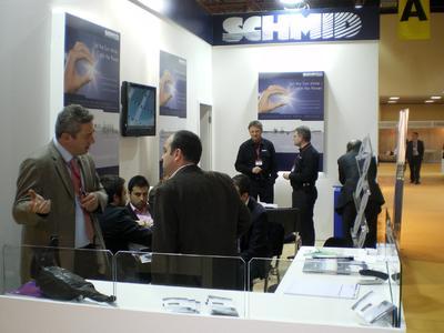 Messestand der Schmid-Gruppe auf der 3rd Solar Energy And Technologies Fair in Istanbul, Türkei