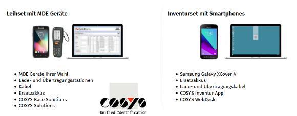 Vorteile der digitalen Inventurerfassung und Inventursoftware für Smartphones und MDE-Geräte
