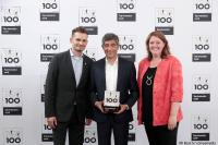 Top 100 Preisverleihung