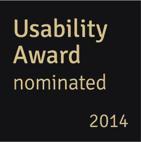 Logo Usability Award Nominated