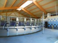 Einsatz der High Grade Faser im landwirtschaftlichen Bereich: Melkkarussell  Foto: Fabrino