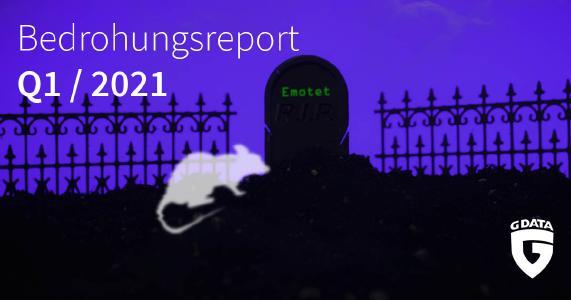 G DATA Bedrohungsreport Q1
