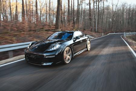 Award-winning car: The TECHART GrandGT based on the Porsche Panamera Turbo