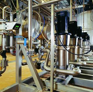 Grundfos weiter im Lebensmittel- und Pharma-Markt aktiv