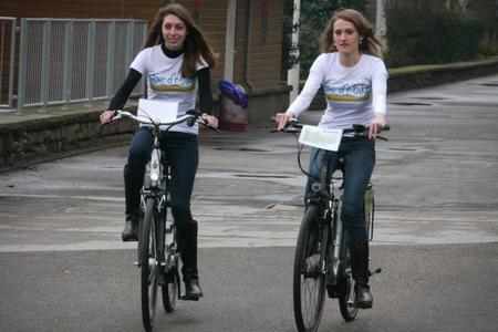 Die tour d' e-bike kommt auf Touren