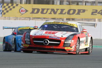 24h Dubai   Sieger Mercedes Benz SLS AMG GT3