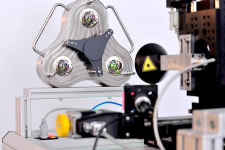 Referenzbasis mit drei Reflektoren