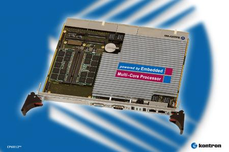 The Kontron CP601264 CompactPCI processor board features innovative Intel® Multi-Core and 64-bit technology