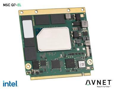 Avnet Integrated präsentiert leistungsfähige Qseven 2.1™ Module mit Intel® Atom® x6000E Serie für Edge Computing Anwendungen
