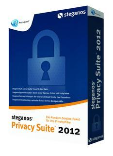 Schützt die Privatsphäre umfassend und wirkungsvoll: Steganos Privacy Suite 2012