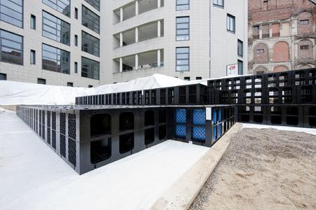 Der polymere Speicherblock RAUSIKKO Box besitzt eine hohe Speicherkapazität von 95 Prozent und bietet so auch Lösungen bei beengten Platzverhältnissen