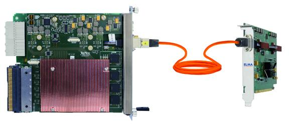 New Elma-MCH with option to fibre-optic connection to PC-card
