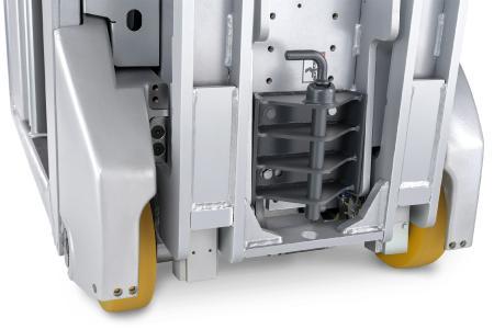 Dank unterschiedlicher Anhängekupplungen ist der STILL LTX-FF für verschiedene Routenzugelemente und Anhänger geeignet