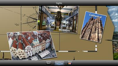 Professional Touch Screen Software Kit for Multimedia Kiosk Terminals in Museums and Exhibitions